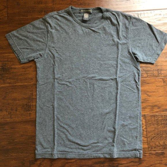 Banana Republic fitted tshirt gray mens M classic